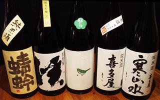 福岡の清酒・冷酒