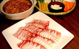 豚しゃぶ/豚チゲ鍋コース